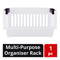 HomeProud Multi-Purpose Organiser Rack