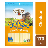 Organic Valley Stringles Organic Cheese - Cheddar