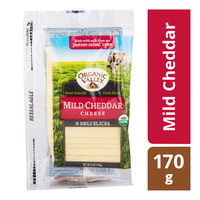 Organic Valley Cheese Slices - Mild Cheddar