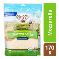Organic Valley Finely Shredded Cheese - Mozzarella