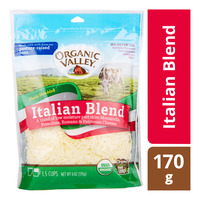 Organic Valley Finely Shredded Cheese - Italian Blend