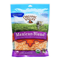 Organic Valley Finely Shredded Cheese - Mexican Blend