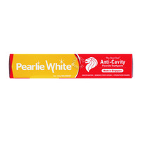 Pearlie White Fluoride Toothpaste - The Real Red Anti-Cavity