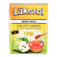 Lakerol Fruity Drops - Green Apple with Honey