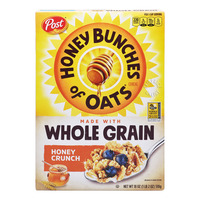 Post Honey Bunch Of Oats Cereal - Whole Grain Honey Crunch