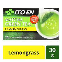 Ito En Matcha Green Tea Bags - Lemongrass