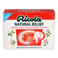 Ricola Natural Relief Swiss Herb Lozenges - Swiss Cherry
