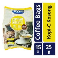 Owl Kopitiam Roast & Ground Coffee Bags - Kopi-C Kosong
