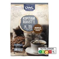 Owl Kopitiam Roast & Ground Coffee Bags - Kopi-O 30 x 17G