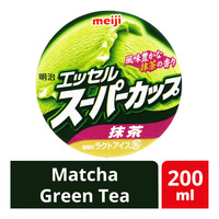 Meiji Ice Cream Mini Cup - Matcha Green Tea