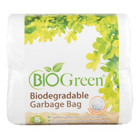 Bio Green Biodegradable Garbage Bag - Small
