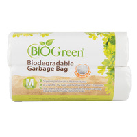 Bio Green Biodegradable Garbage Bag - Medium