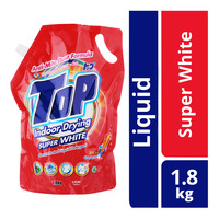 Top Concentrated Liquid Detergent Packet - Super White