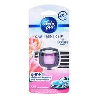 Ambi Pur Car Mini Clip Air Freshener - Downy Scent