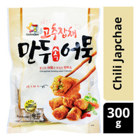 Ourhome Frozen Fishcake Dumpling - Chili Japchae 300G
