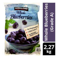Kirkland Signature Frozen Whole Blueberries (Grade A)
