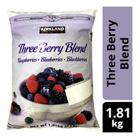Kirkland Signature Frozen Three Berry Blend