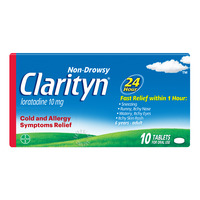 Clarityn Non Drowsy Allergy Relief Tablets