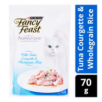 Fancy Feast Inspirations Cat Food - TunaCourgette & WholegrainRice