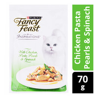 Fancy Feast Inspirations Cat Food - Chicken Pasta Pearls & Spinach