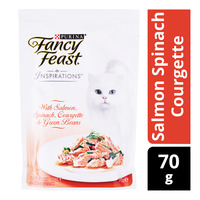 Fancy Feast Inspirations Cat Food - Salmon Spinach Courgette