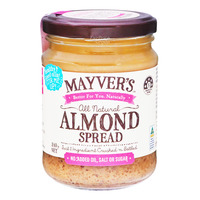 Mayver's All Natural Spread - Almond