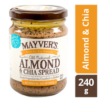 Mayver's All Natural Spread - Almond & Chia
