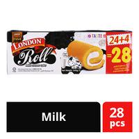 London Roll Cream Cake - Milk