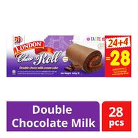 London Roll Cream Cake - Double Chocolate Milk