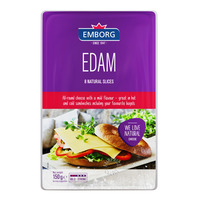 Emborg Natural Cheese Slices - Edam