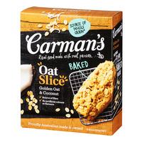 Carman's Baked Oat Slices - Golden Oat & Coconut