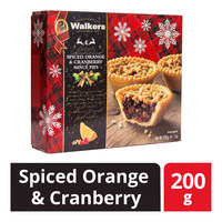 Walkers Mince Pies - Spiced Orange & Cranberry