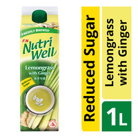 F&N NutriWell Reduced Sugar Drink - Lemongrass & Ginger