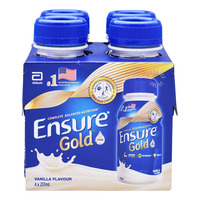 Abbott Ensure Nutrition Shake Bottle Drink - Vanilla