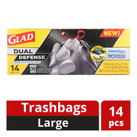 Glad Drawstring Trashbags - Large