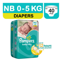 Pampers Baby Dry Diapers - New Born