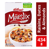 Kellogg's Mueslix Cereal - Raisins, Dates & Almonds