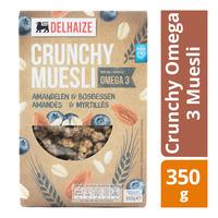 Delhaize Crunchy Omega 3 Muesli