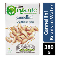 Tesco Organic Beans in Water - Cannellini