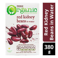 Tesco Organic Beans in Water - Red Kidney