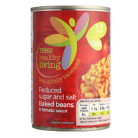 Tesco Healthy Living Baked Beans - Reduced Sugar & Salt