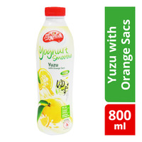 F&N Magnolia Yoghurt Bottle Smoothie - Yuzu with Orange Sacs