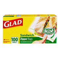 Glad Sandwich Bags - Zipper