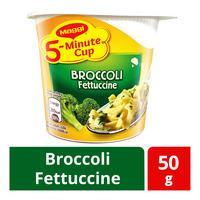 Maggi 5-Minute Instant Cup Pasta - Broccoli Fettuccine