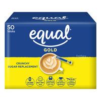 Equal Sweetener Sachets - Gold (Crunchy Granular)