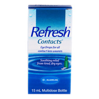 Refresh Eye Drops - Contacts