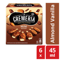 Nestle La Cremeria Mini Ice Cream Sticks - Almond Vanilla