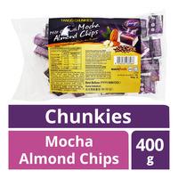 Tango Chunkies Milk Chocolate - Mocha Almond Chips
