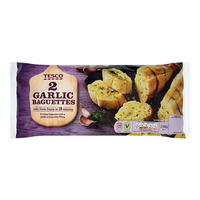 Tesco Frozen Garlic Baguettes