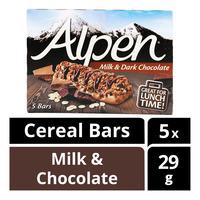 Alpen Cereal Bar - Milk & Dark Chocolate